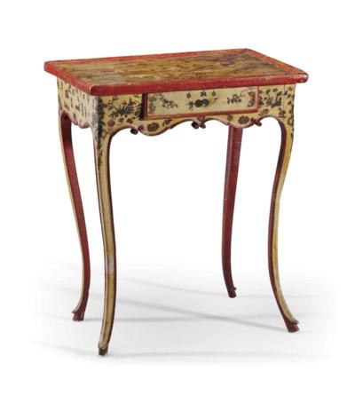 TABLE EN CABARET D'EPOQUE ROCO