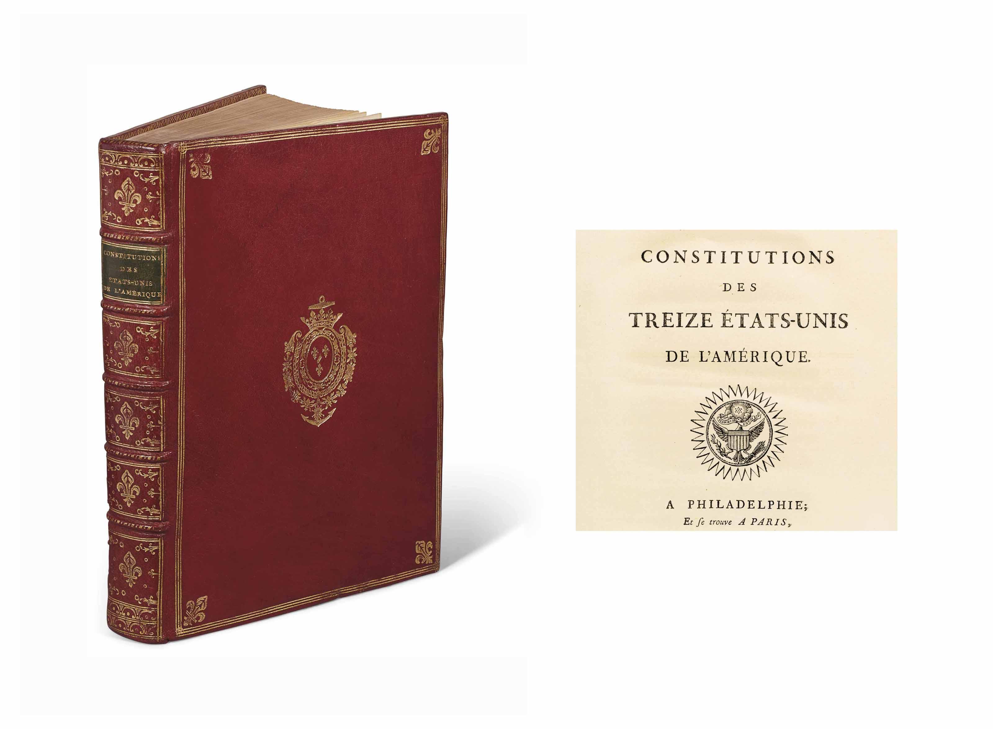 [ÉTATS-UNIS].-- Constitutions
