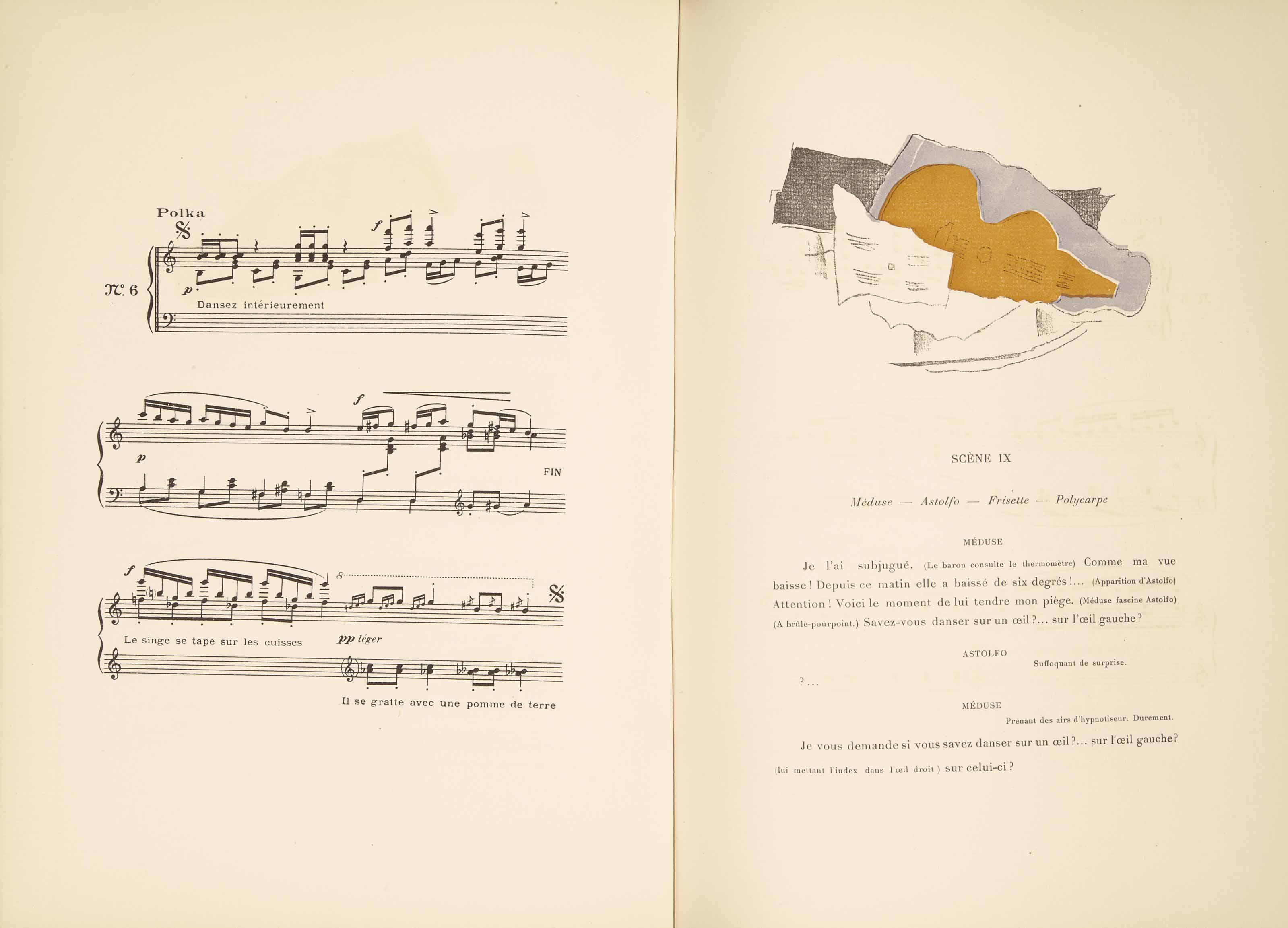 [BRAQUE] -- Érik SATIE (1866-1