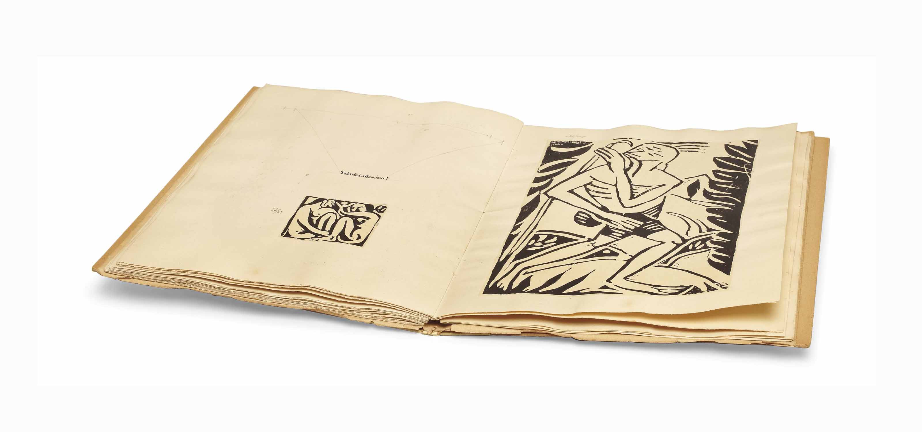 DERAIN] -- Guillaume APOLLINAIRE (1880-1918)  [Maquette pour