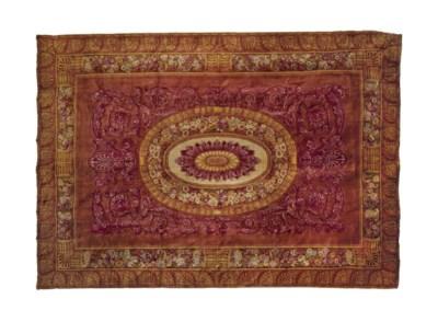 tapis d 39 epoque restauration manufacture de la savonnerie vers 1820 christie 39 s. Black Bedroom Furniture Sets. Home Design Ideas