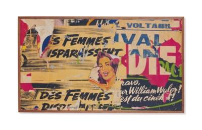 JACQUES VILLEGLÉ (NÉ EN 1926)
