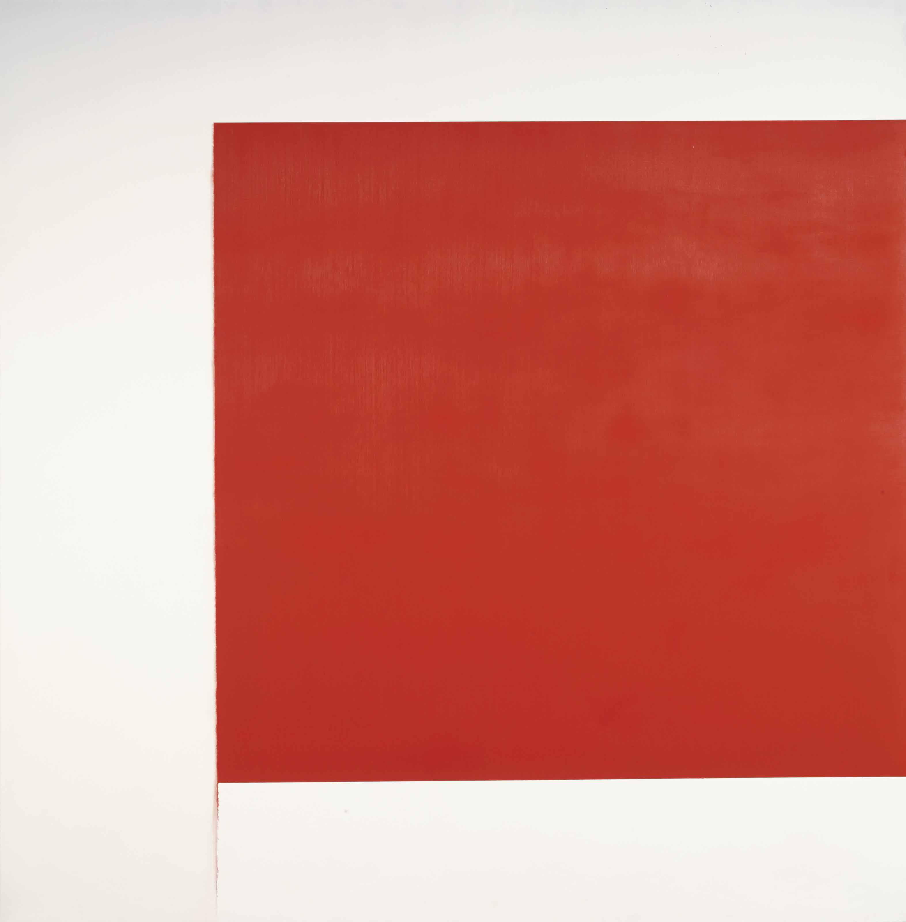 Exposed Painting Cadmium Red Pale