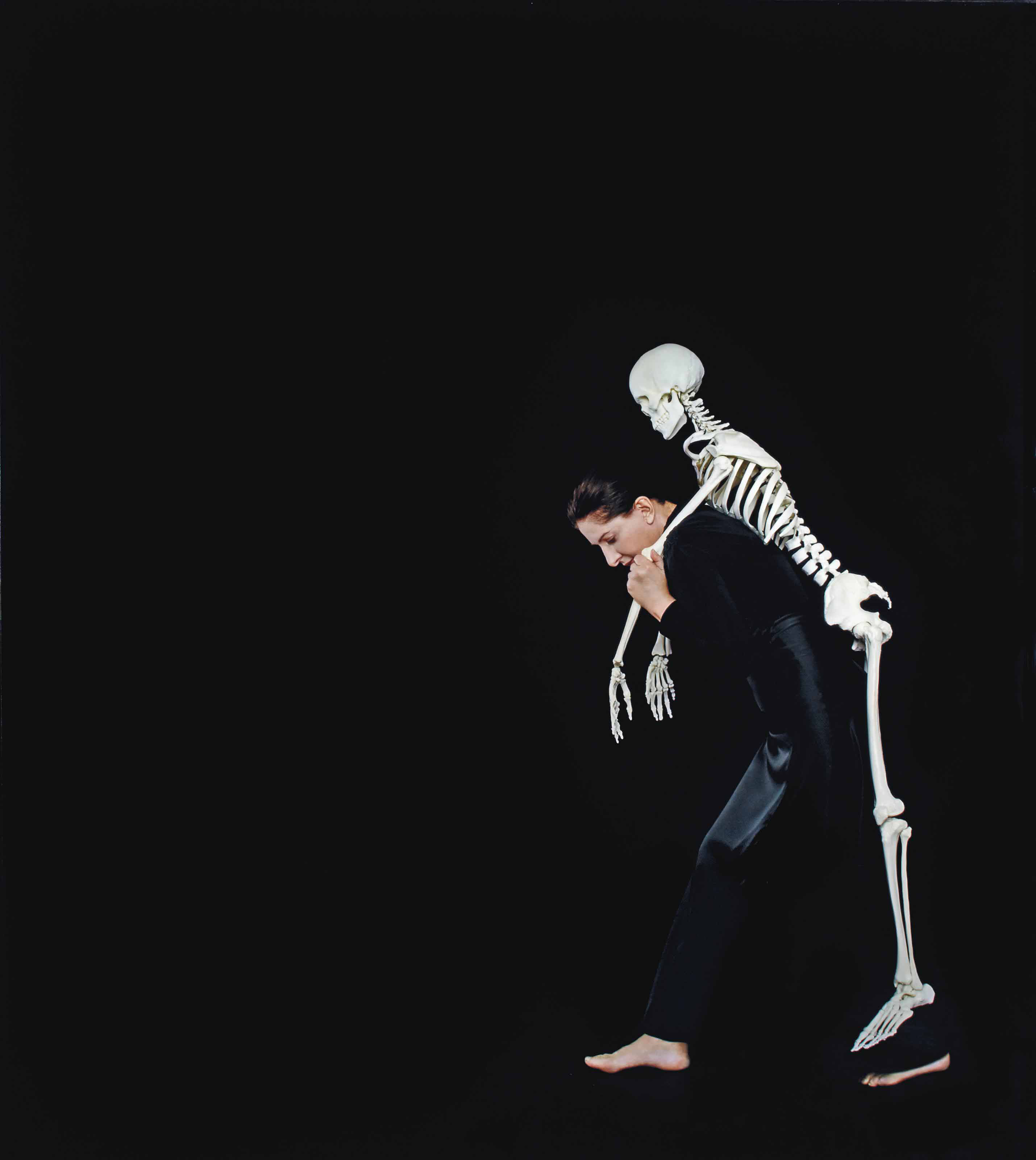 Carrying the Skeleton I, 2008