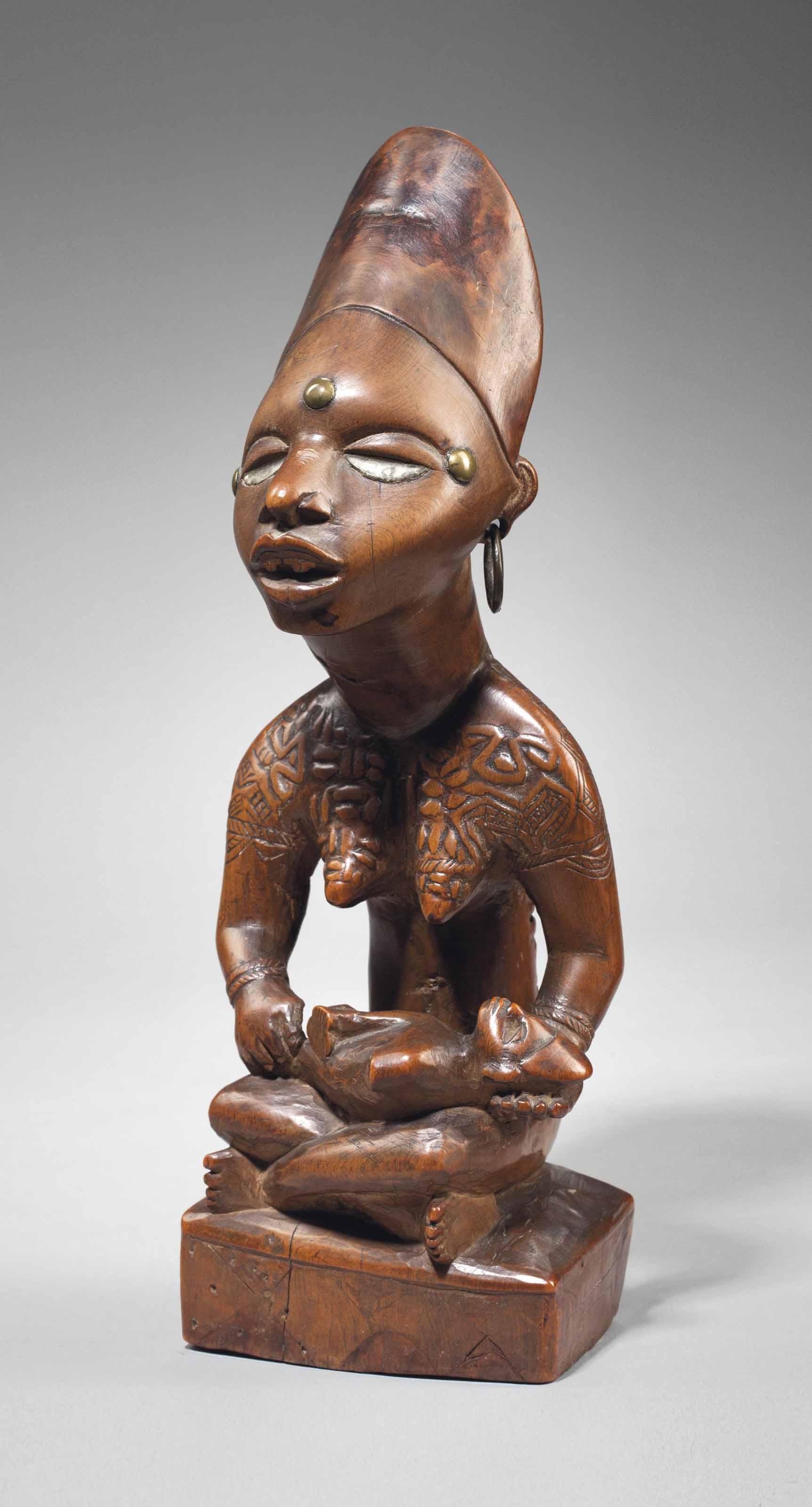 Figure de maternité Yombé, phe