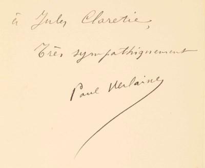 Paul VERLAINE. Chansons pour E