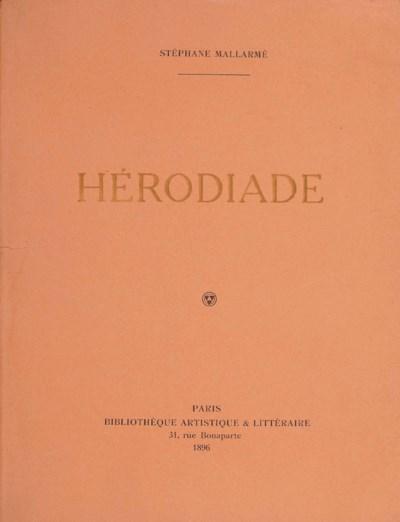 Stéphane MALLARMÉ. Hérodiade.
