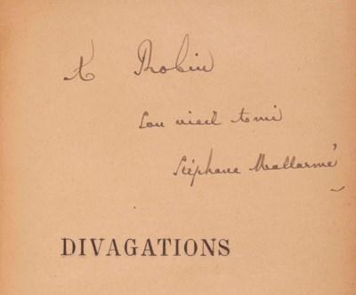 Stéphane MALLARMÉ. Divagations