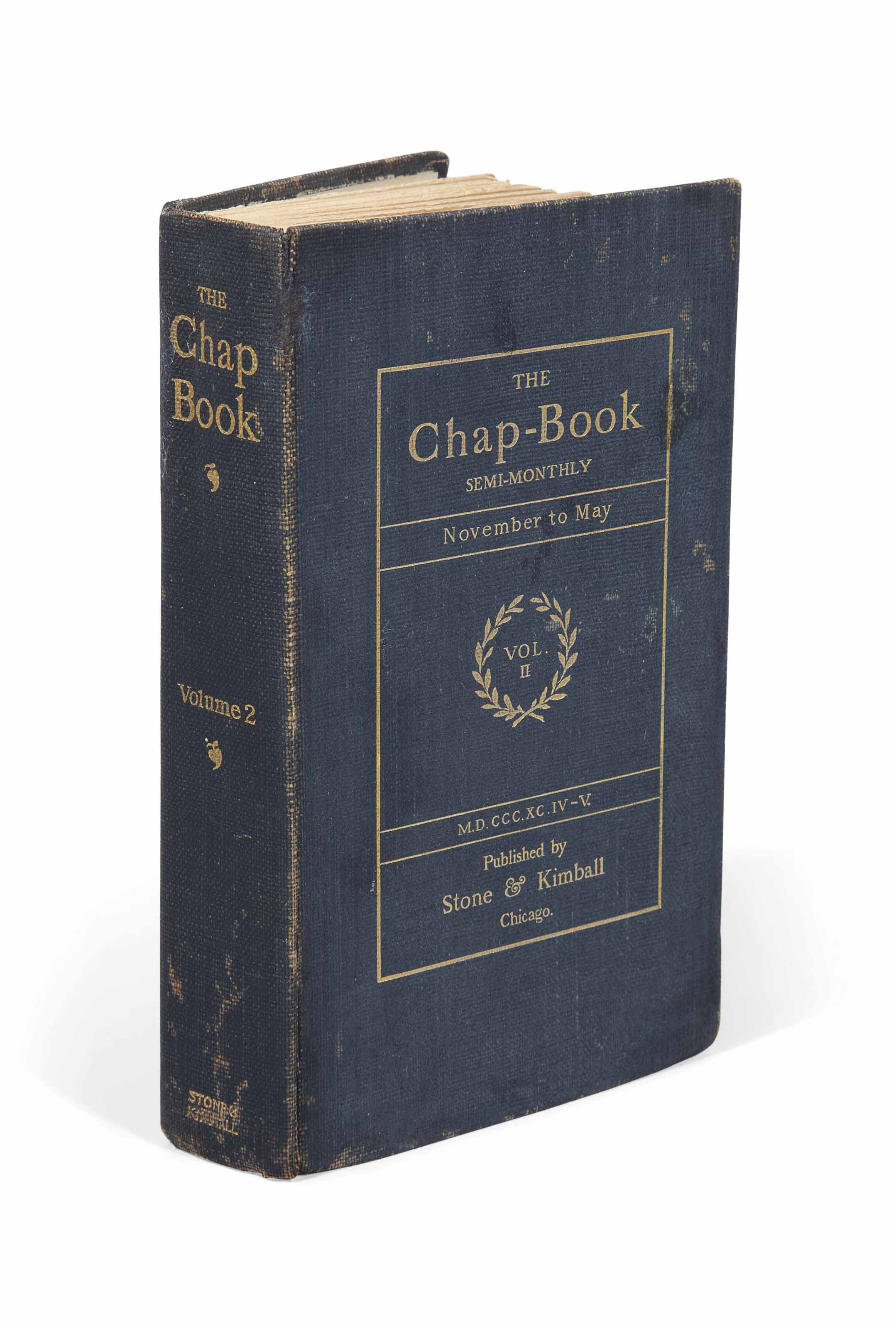 THE CHAP-BOOK. Semi-monthly. I