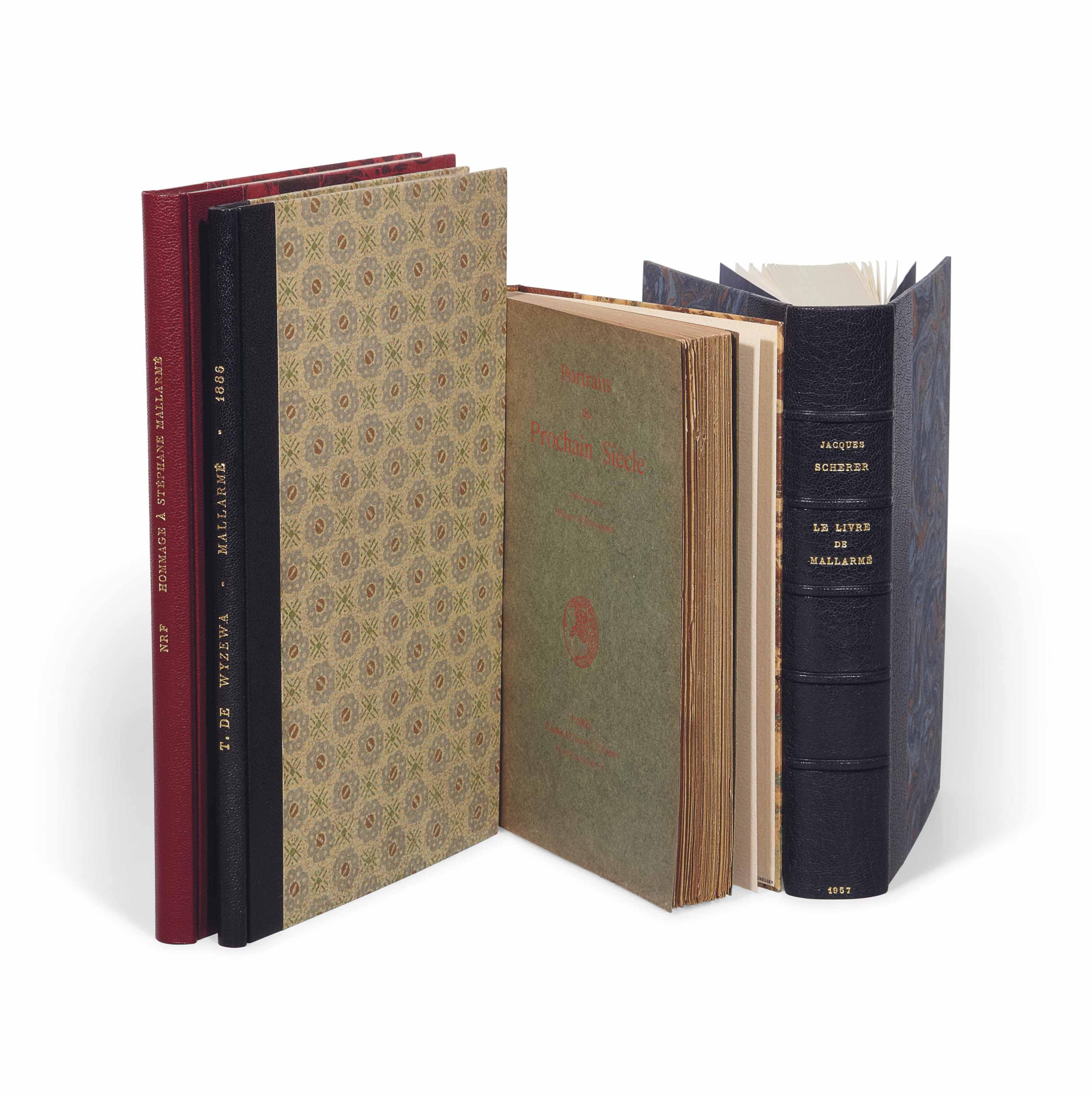 [MALLARMÉ]. Réunion de 4 ouvrages sur Stéphane Mallarmé, tous en ÉDITION ORIGINALE.