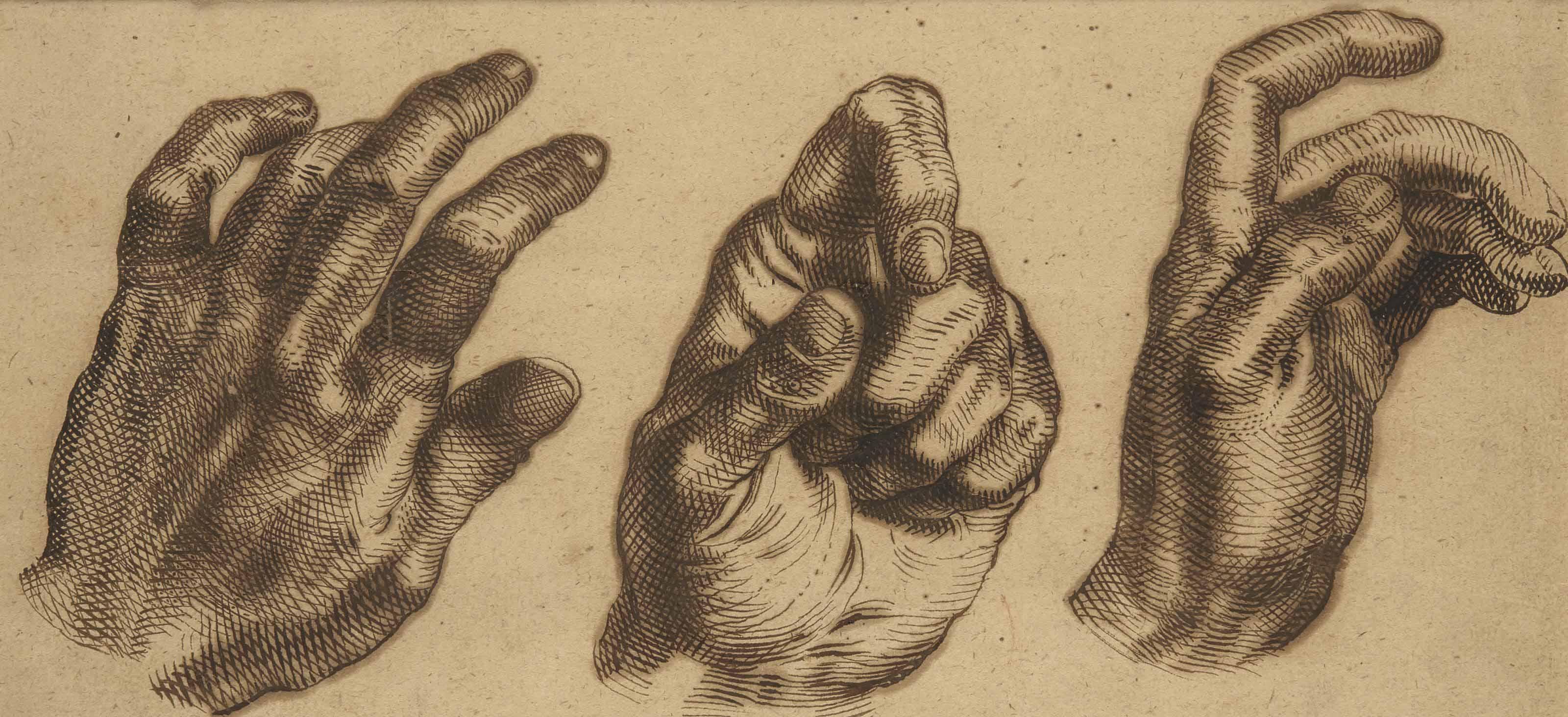 Etudes de mains