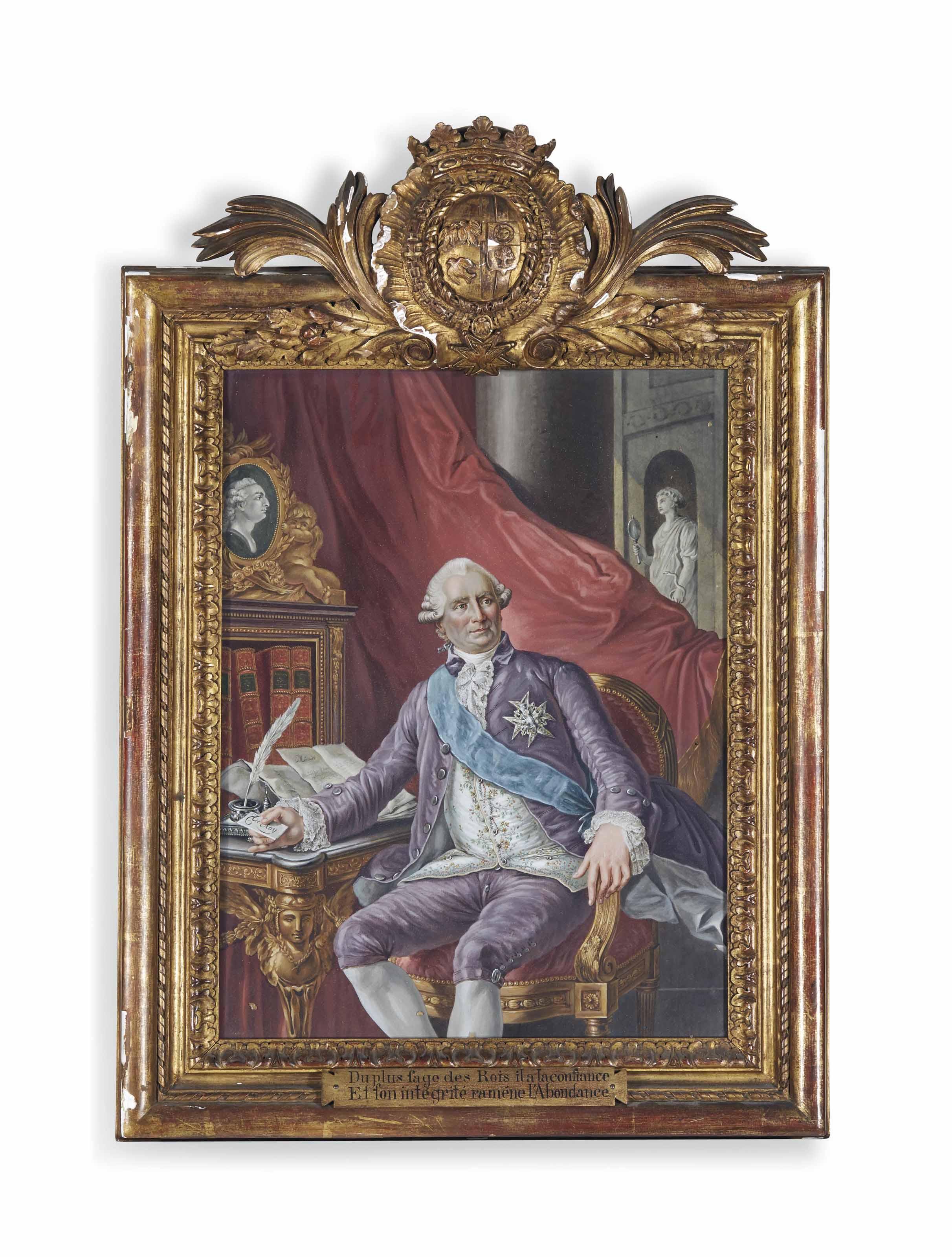 Portrait de Charles Gravier (1719-1787), Comte de Vergennes