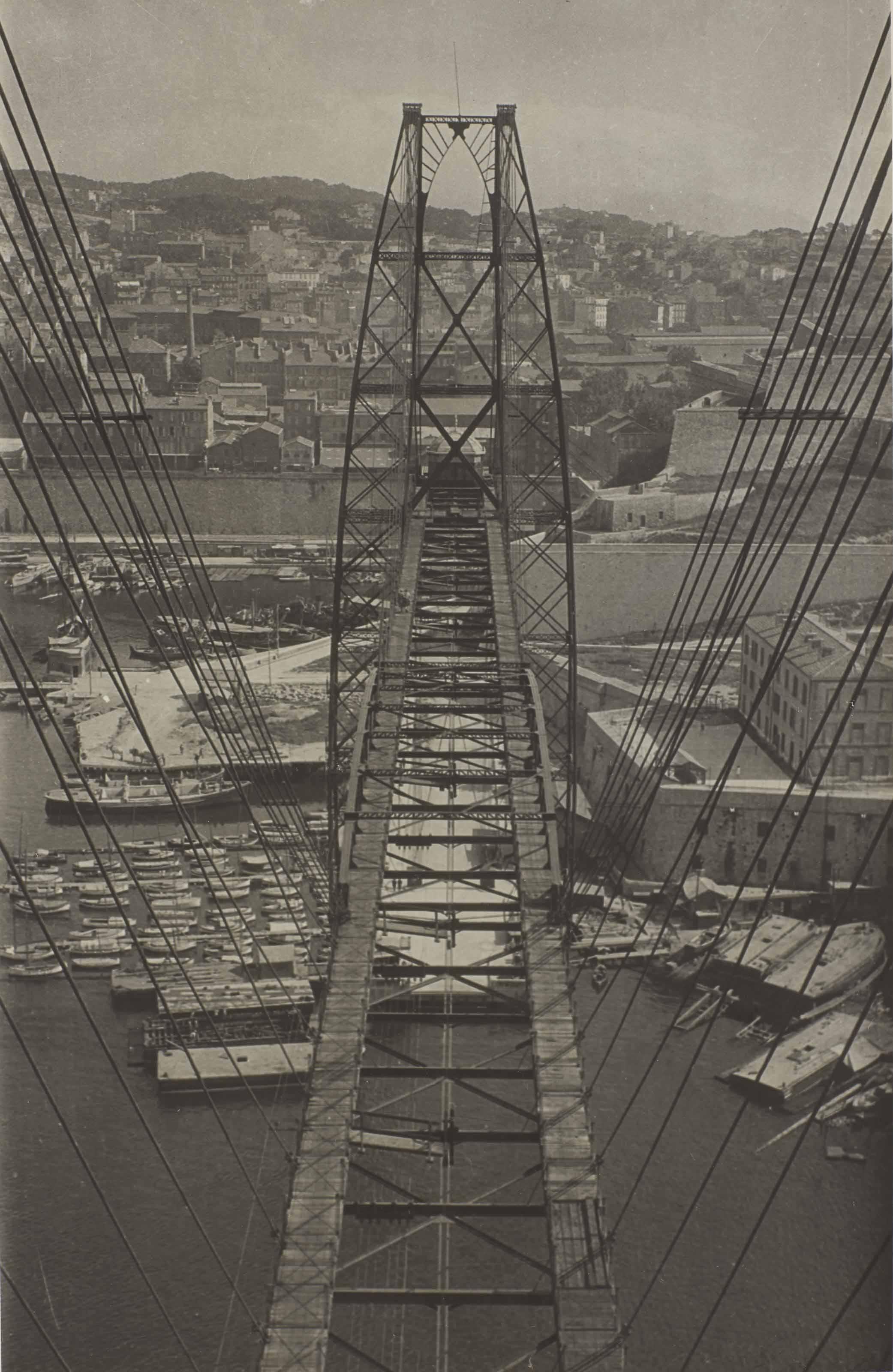 Pont Transbordeur, Marseilles, 1928