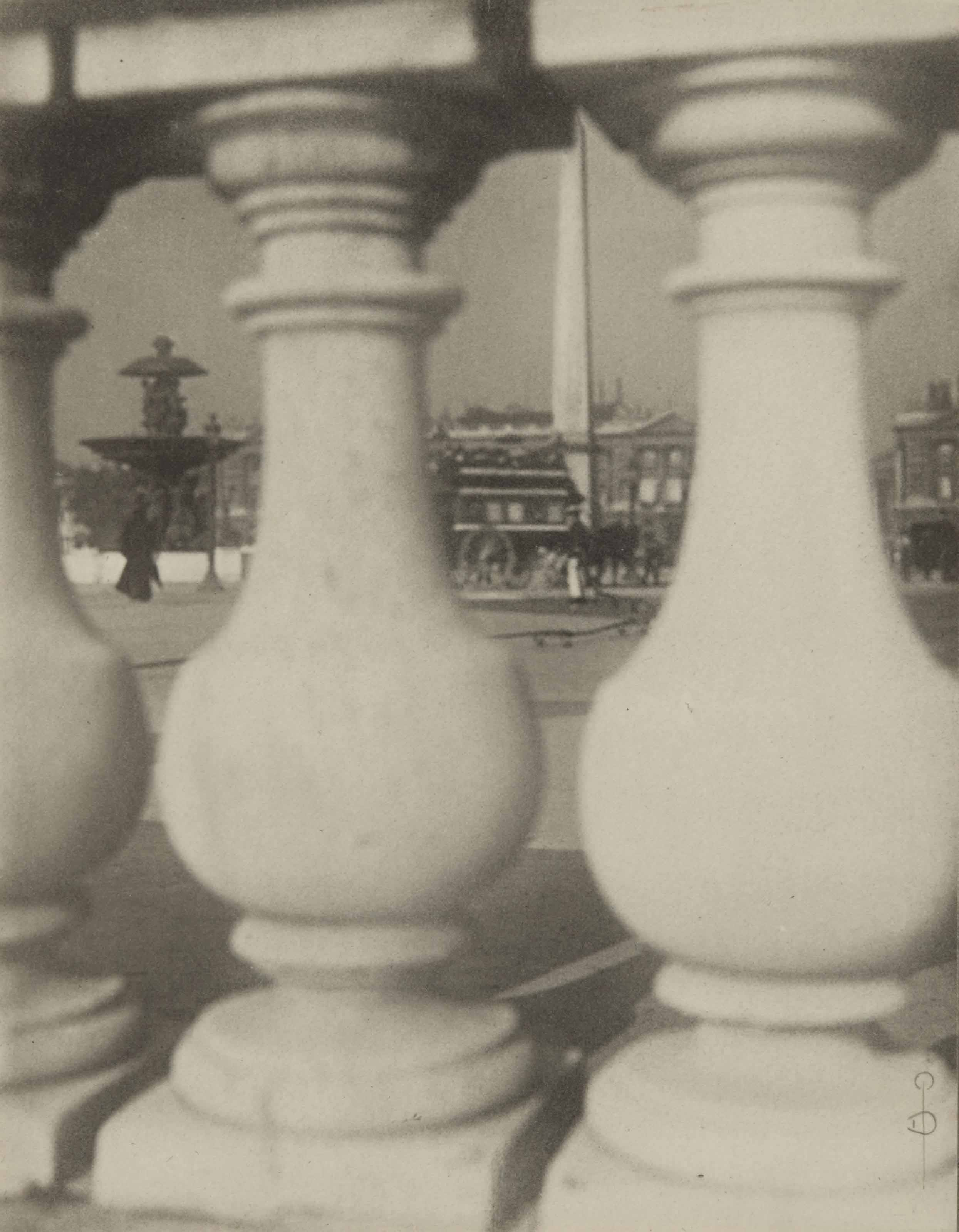La place de la Concorde, 1908