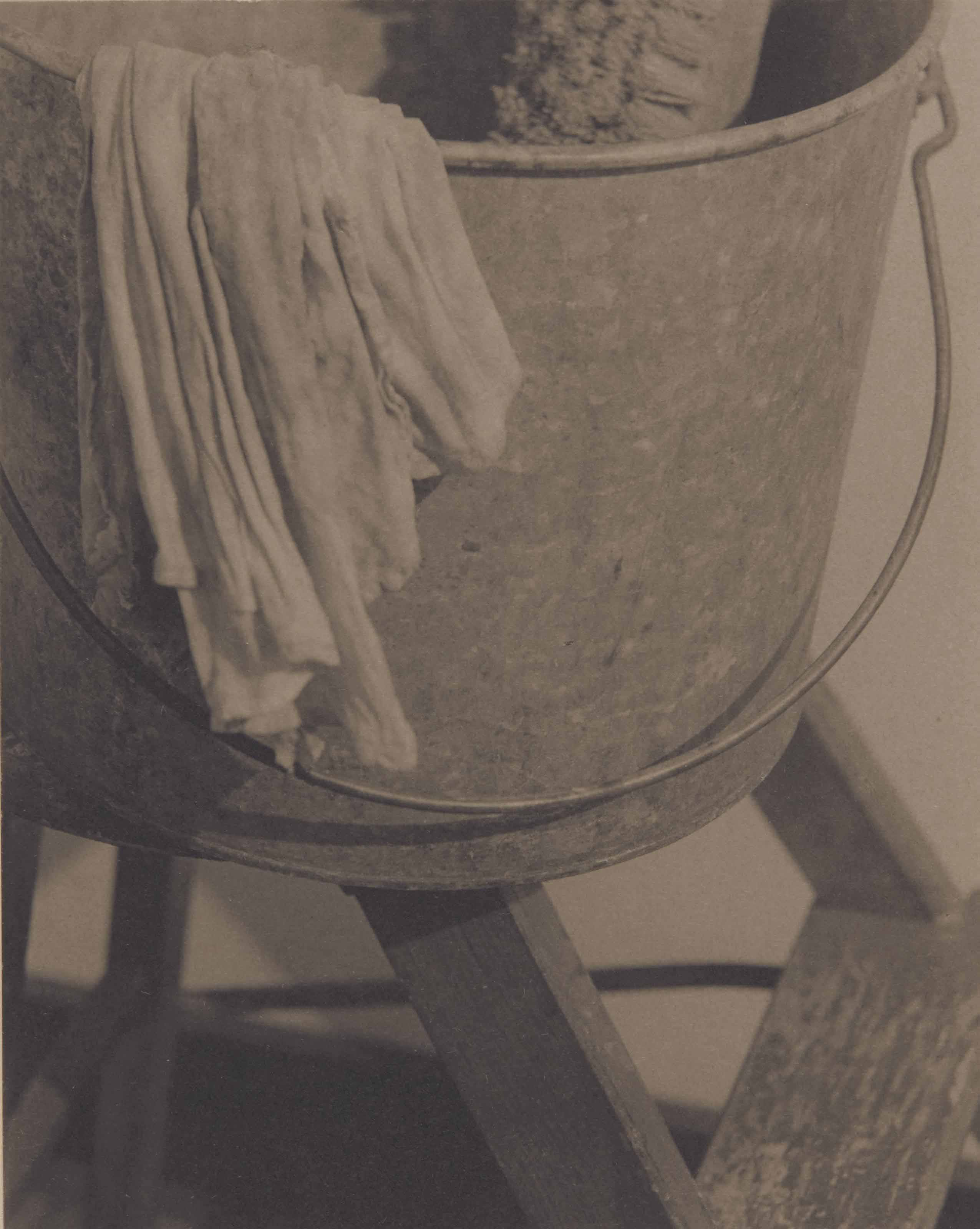 Pail on ladder, 1922