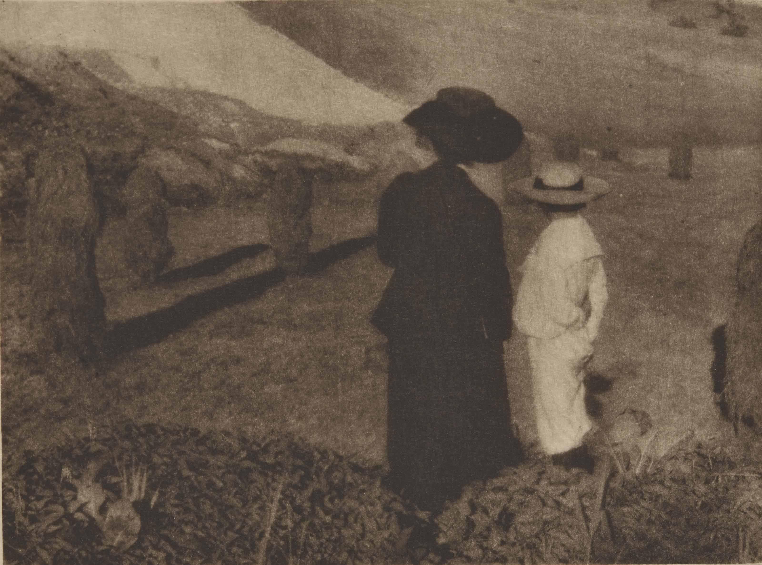 Mary Warner und Hans Kühn, vers 1906