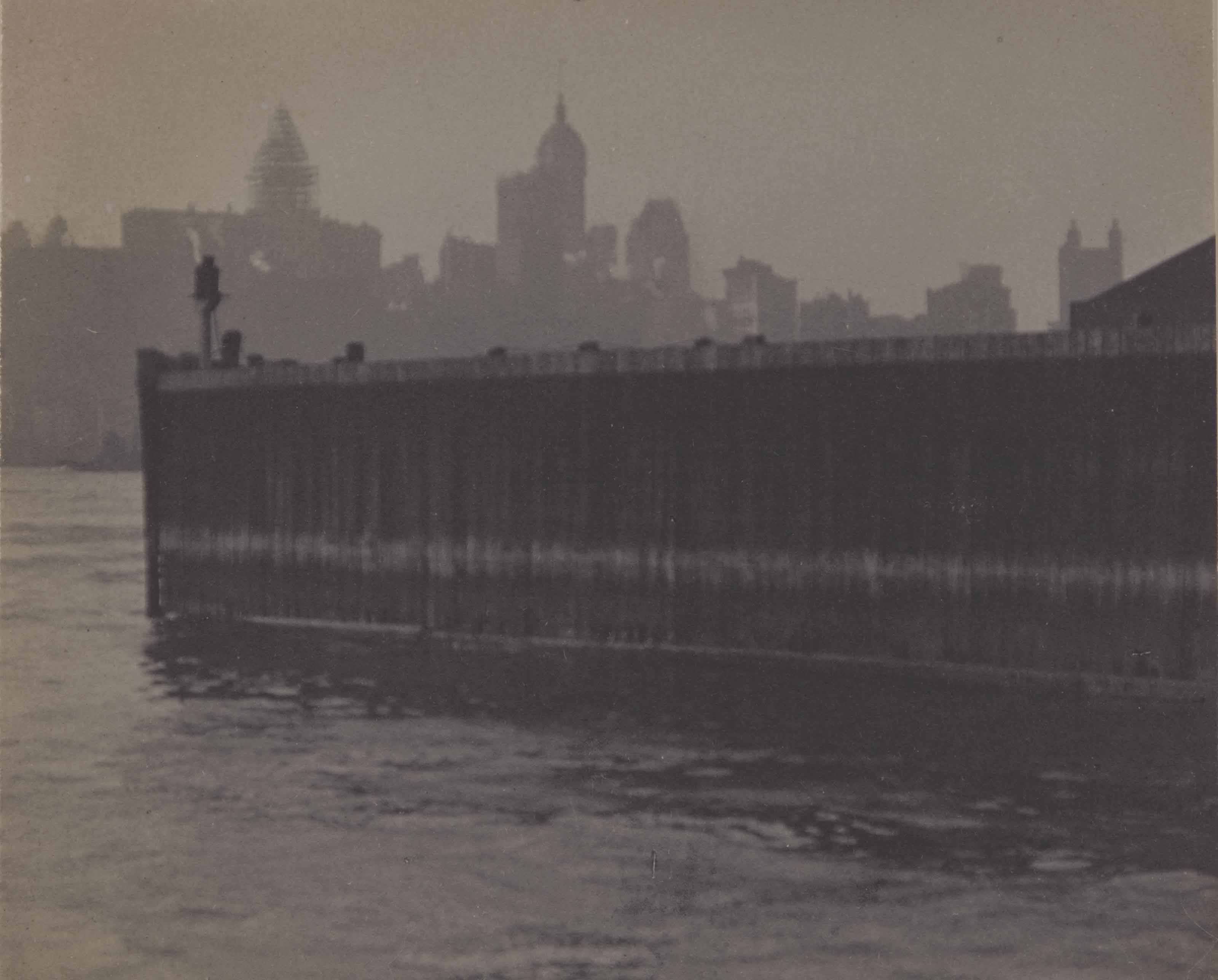 New York Harbour, 1911