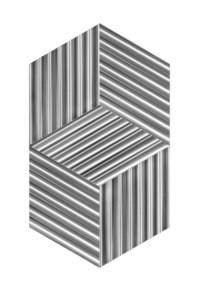 Supertificie a testura vibratile - Due cubi virtuali