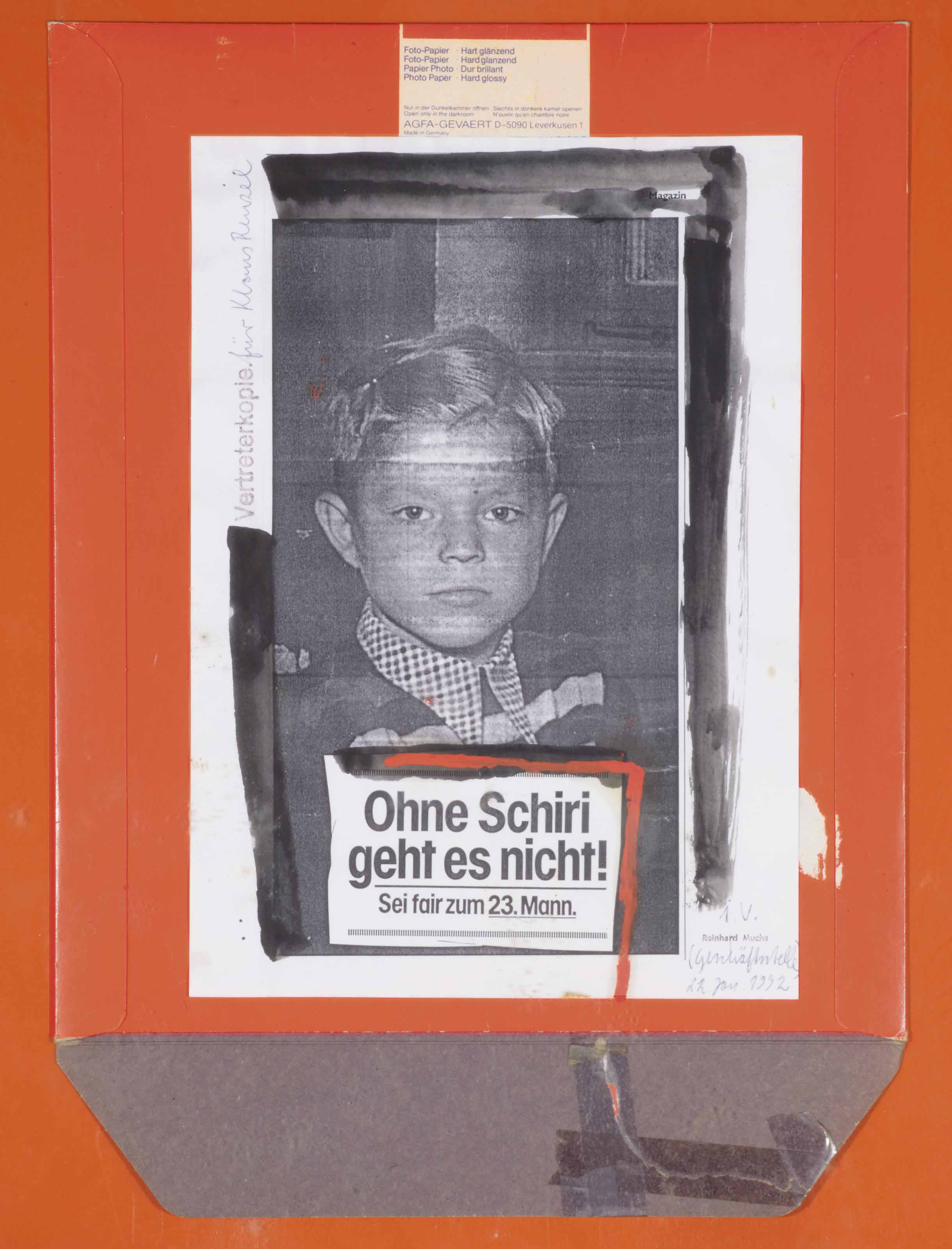 Reinhard Mucha (b. 1950)