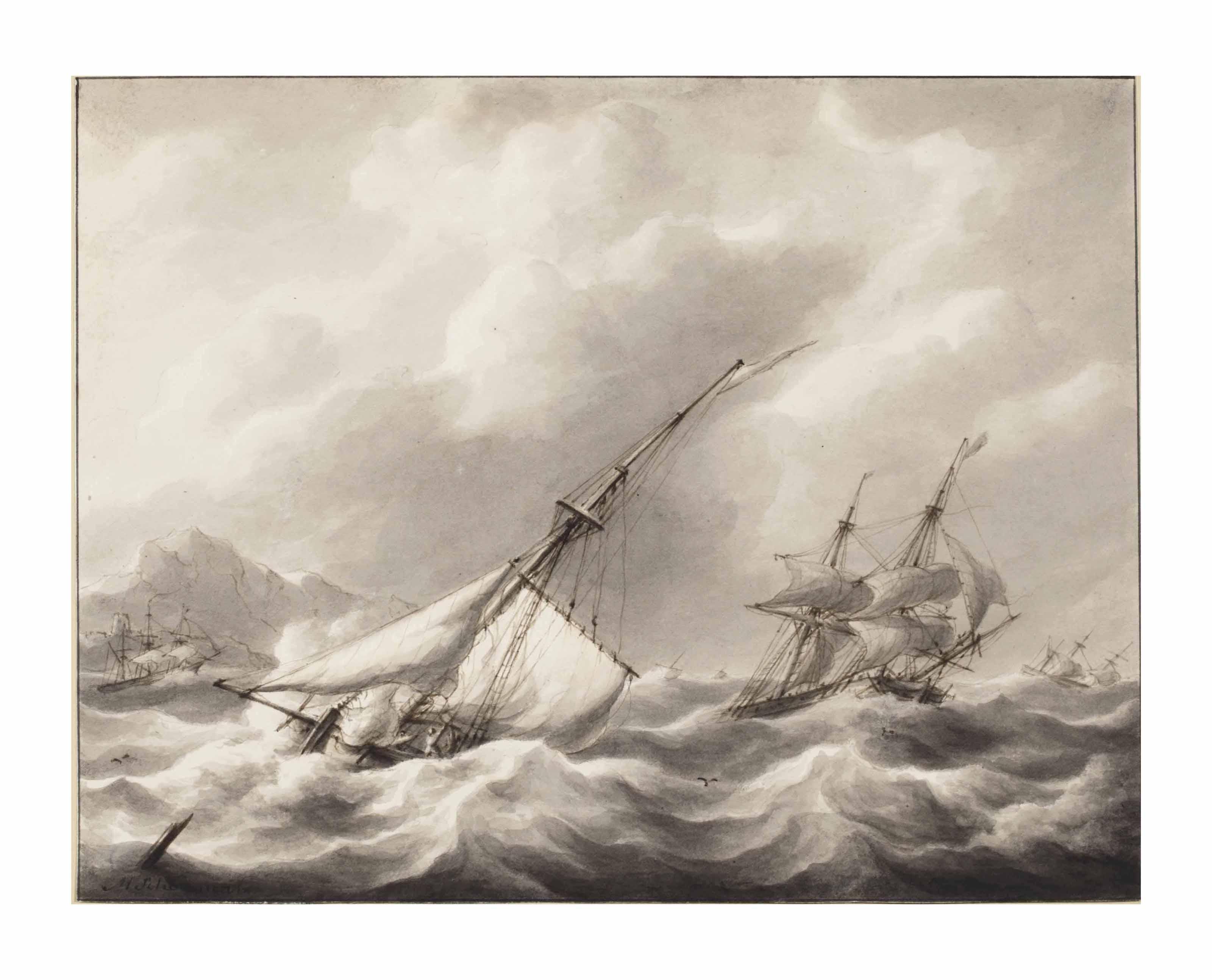 Shipping in rough seas