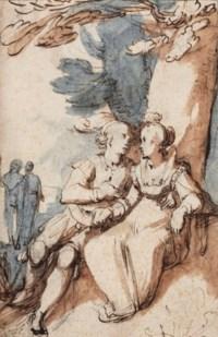An amorous couple