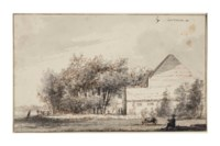 A house and trees near Spaarnwoude
