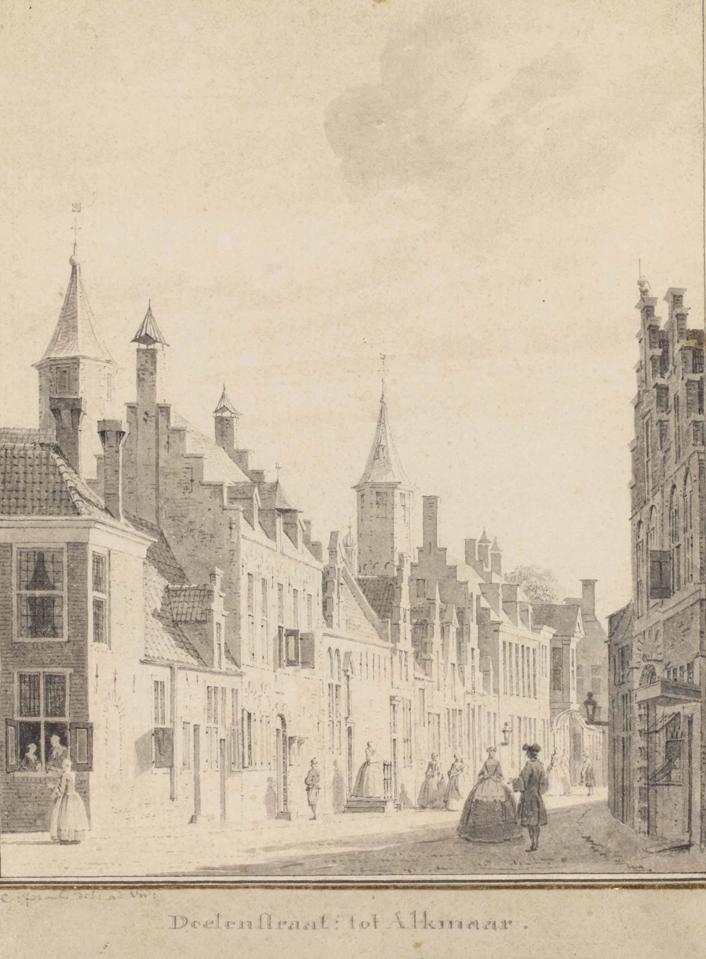 The Doelenstraat, Alkmaar