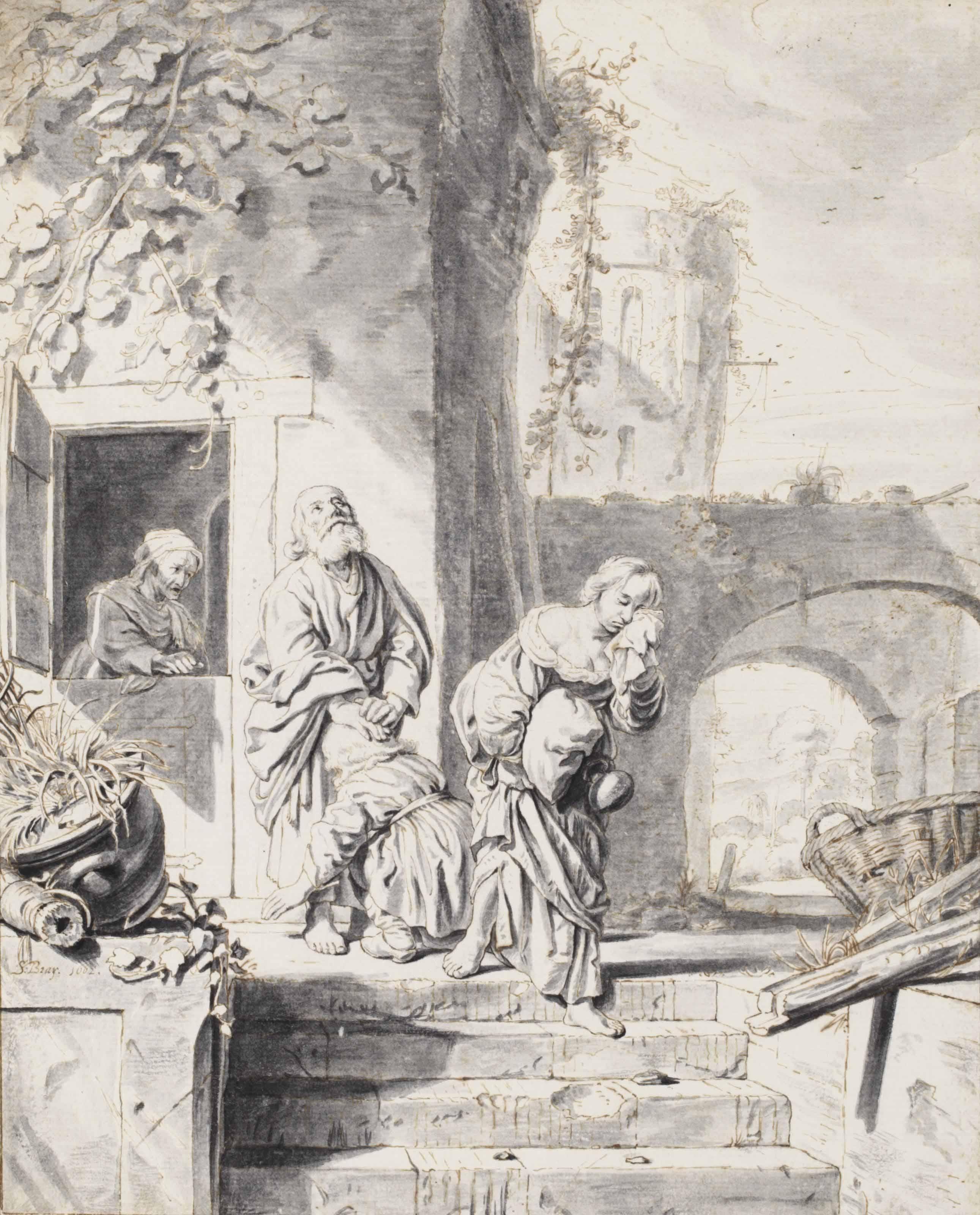 The Expulsion of Hagar and Ishmael