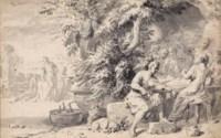 An outdoor feast
