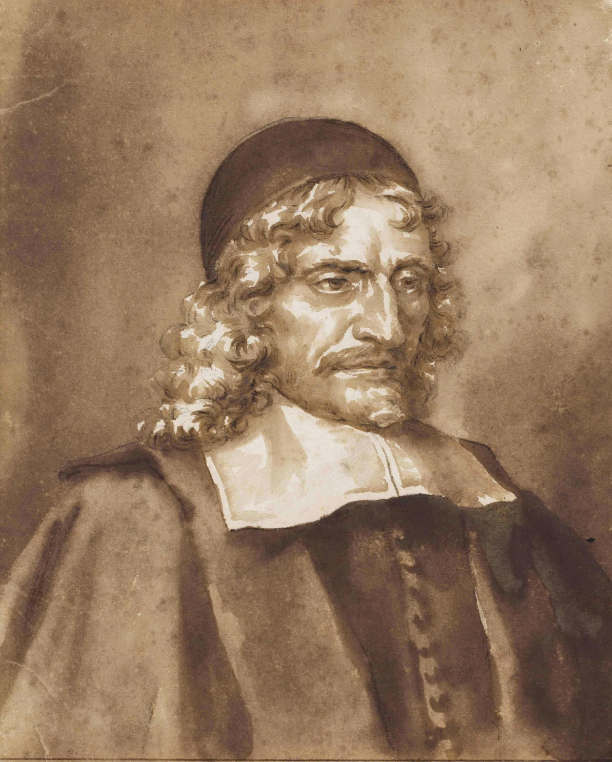 Portrait of the Remonstrant Preacher Bartholomeus Praevostius