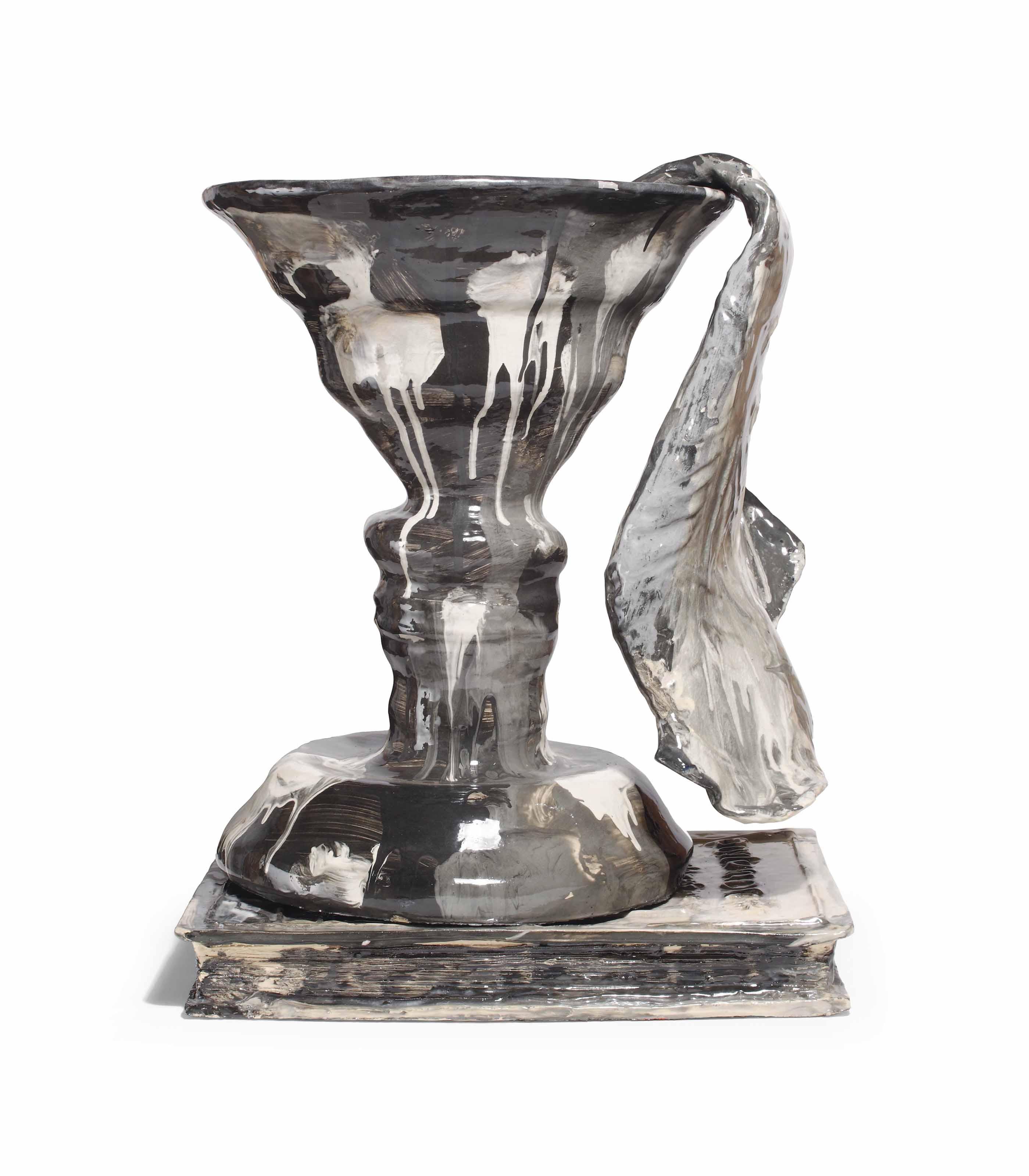Profile Vase (Gauguin), 'Verzameld Werk'/Van Ostaijen and draped Picasso