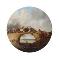 A battle engagement on a bridge
