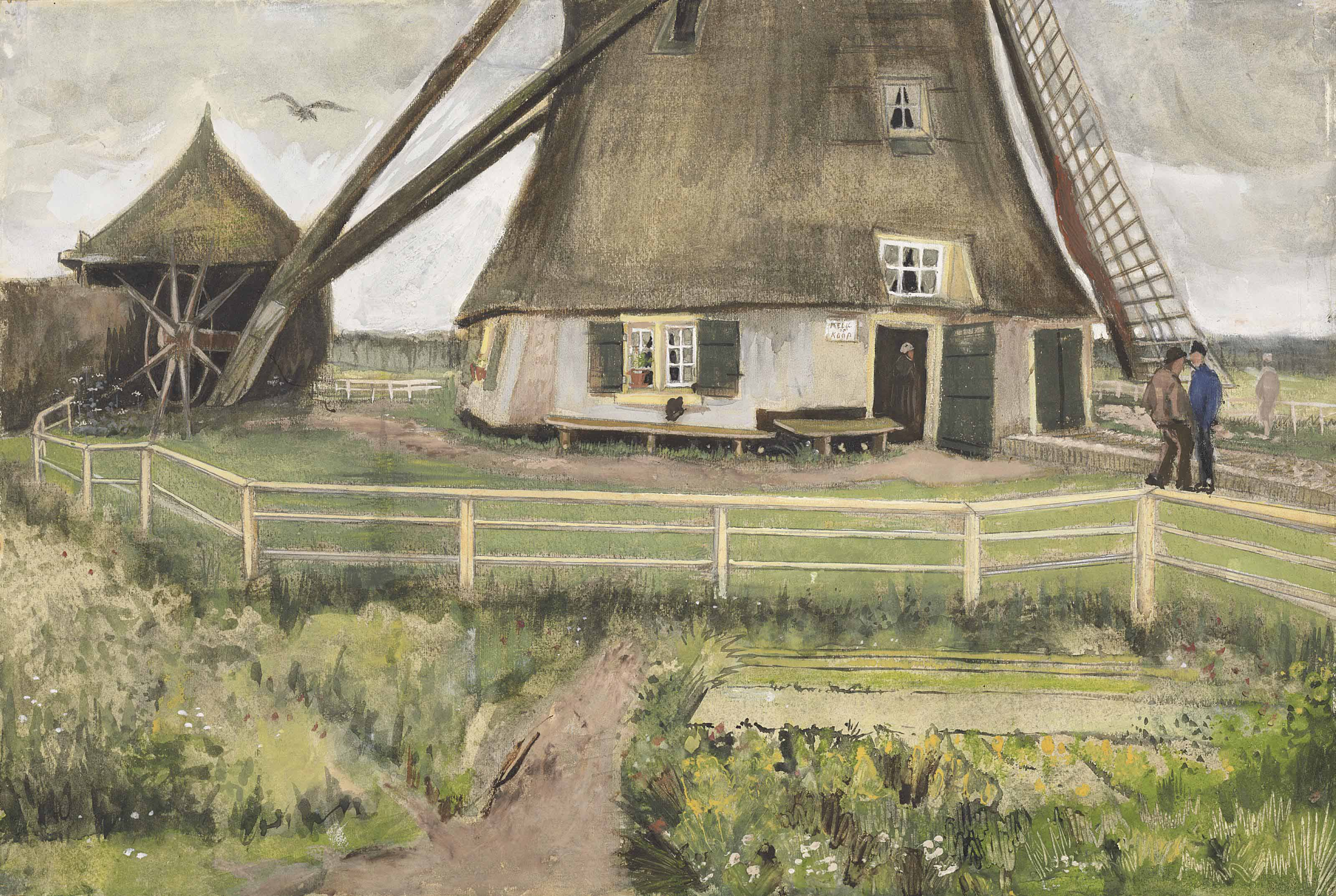 The 'Laakmolen' near The Hague (The Windmill)