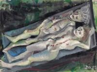 Weibliche Leichen (Anatomie Dresden-Friedrichstadt)