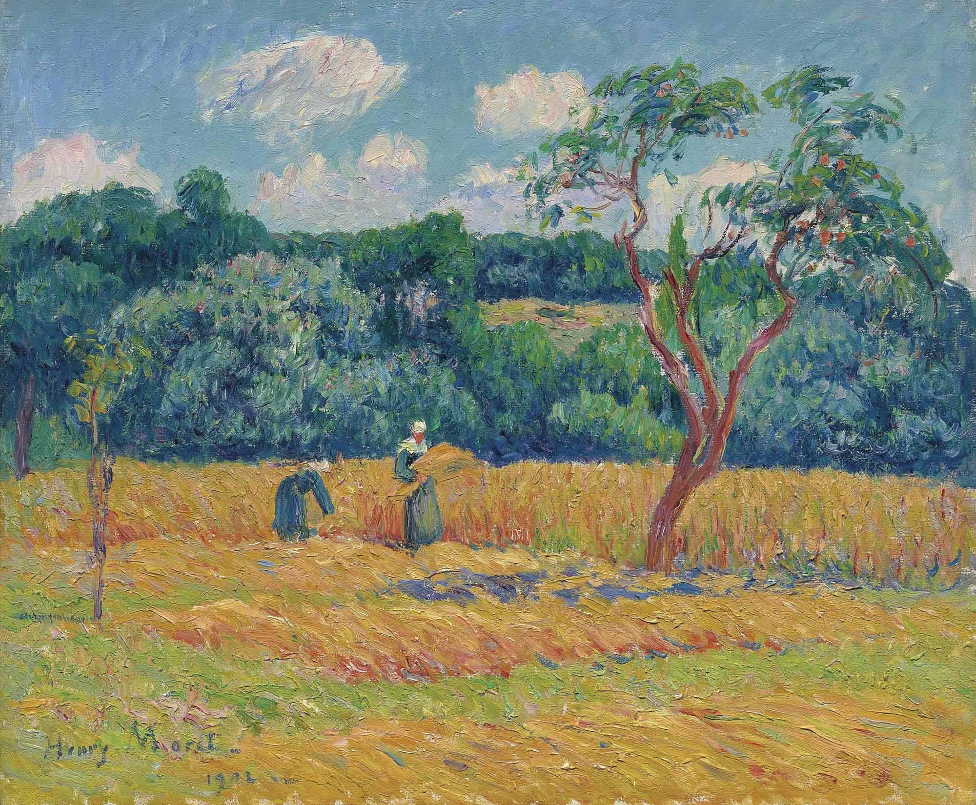 Les blés, pays de Riec