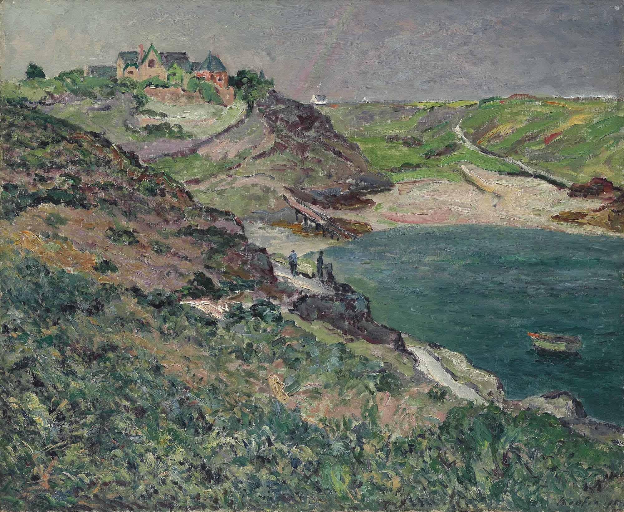 L'orage le soir, l'anse de Port-Goulphar, Belle-Île-en-Mer