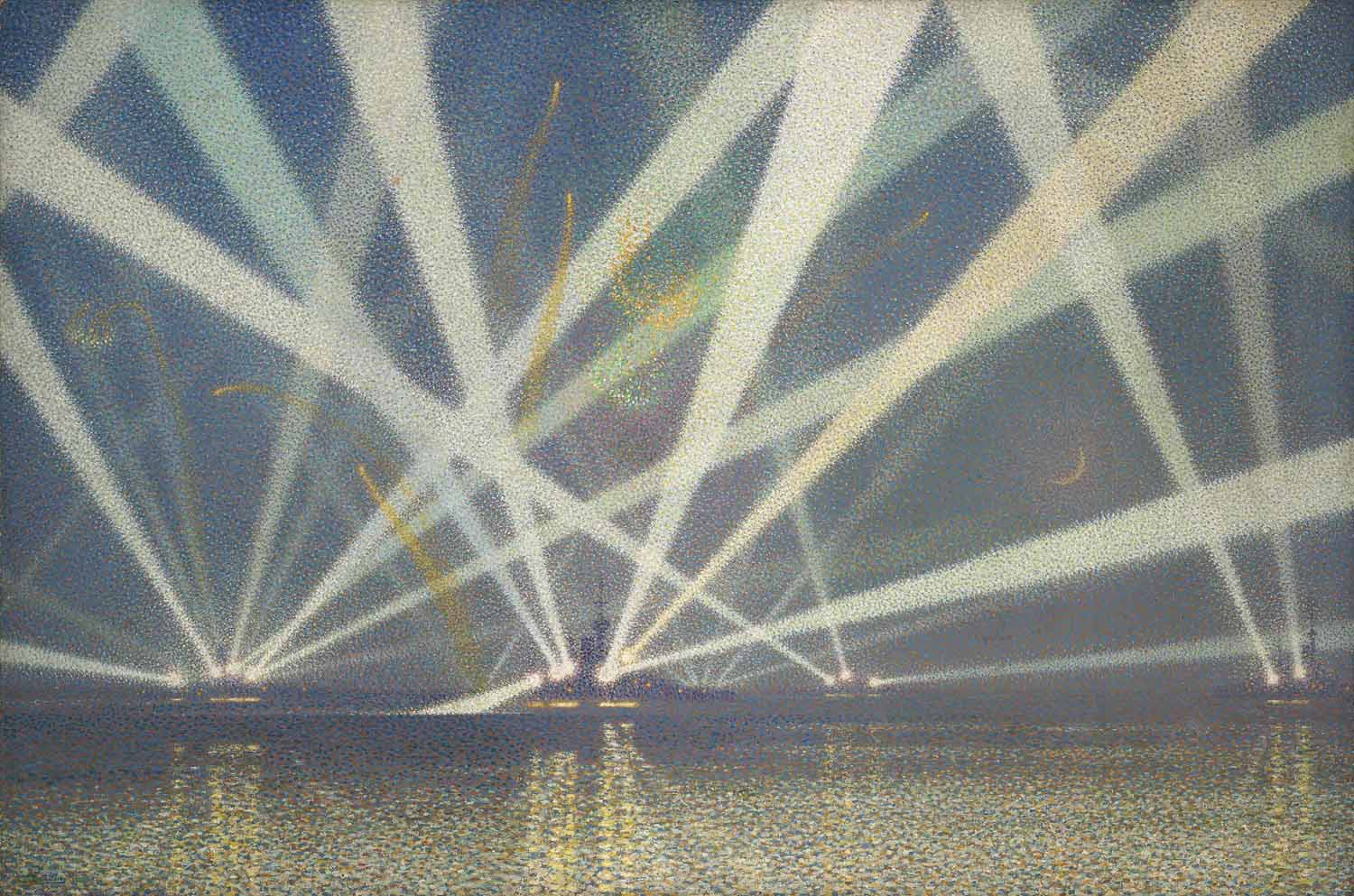 The Grand Fleet: Searchlight Display