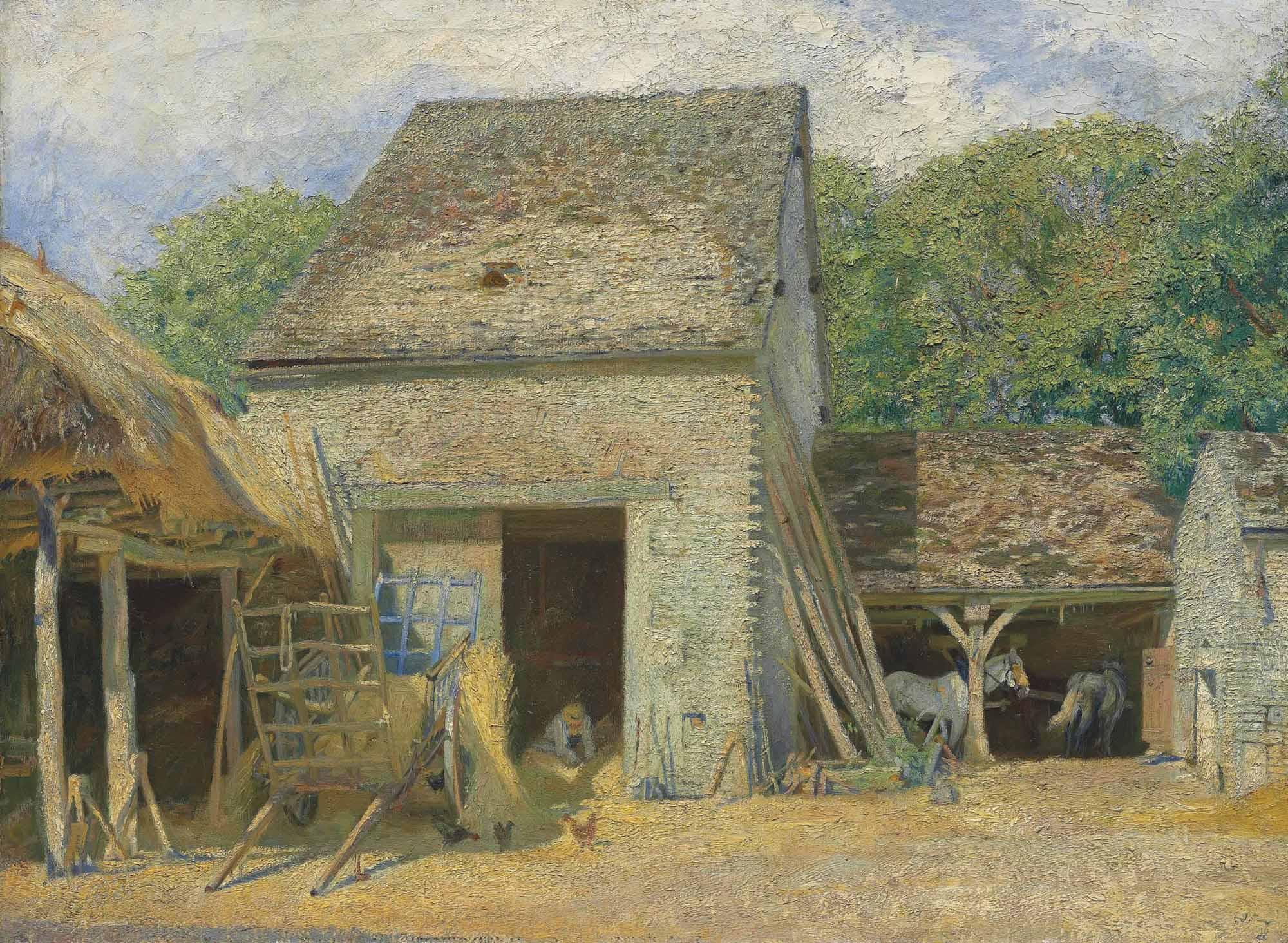 A Farm in Burgundy