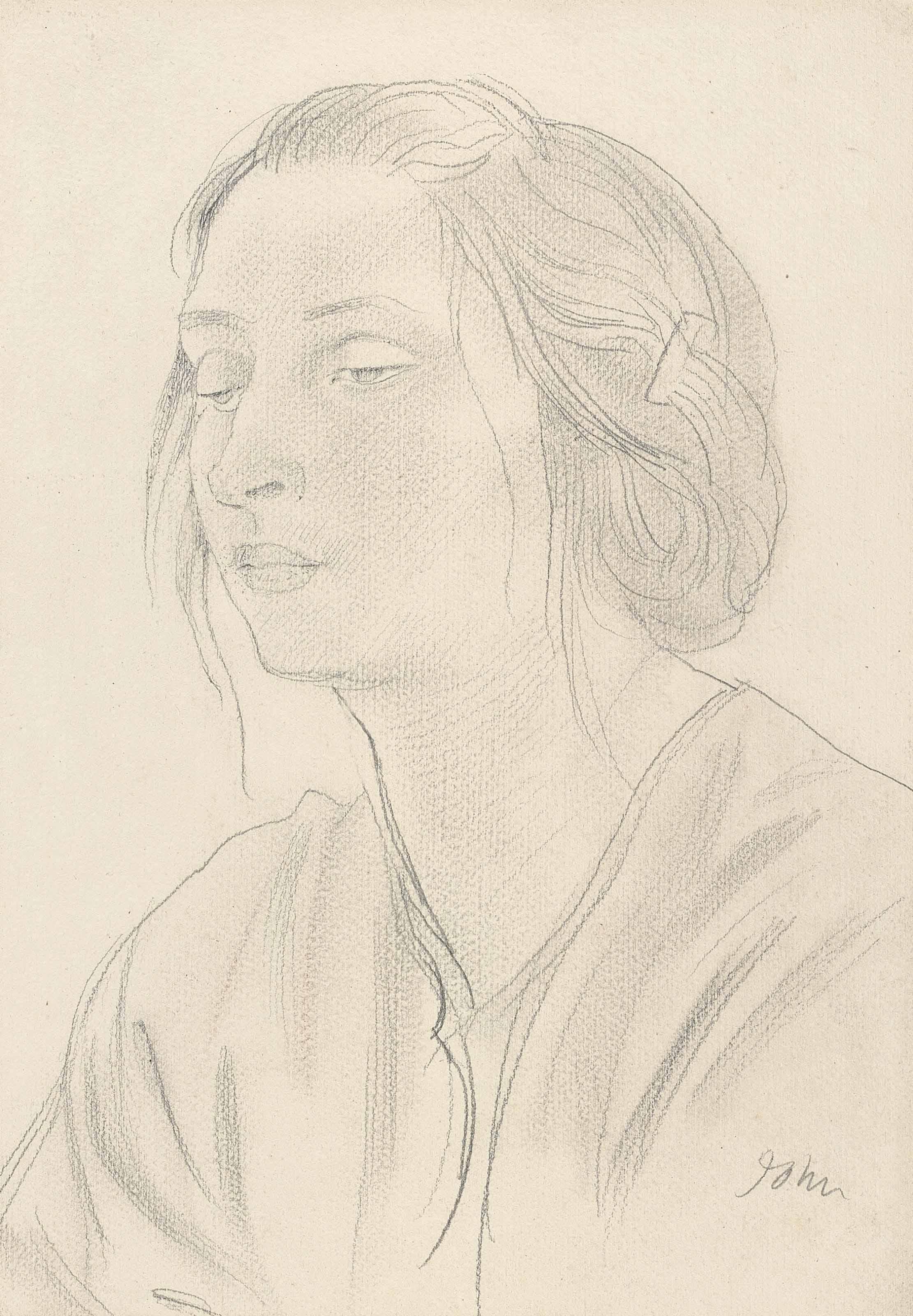 Augustus John, O.M., R.A. (187