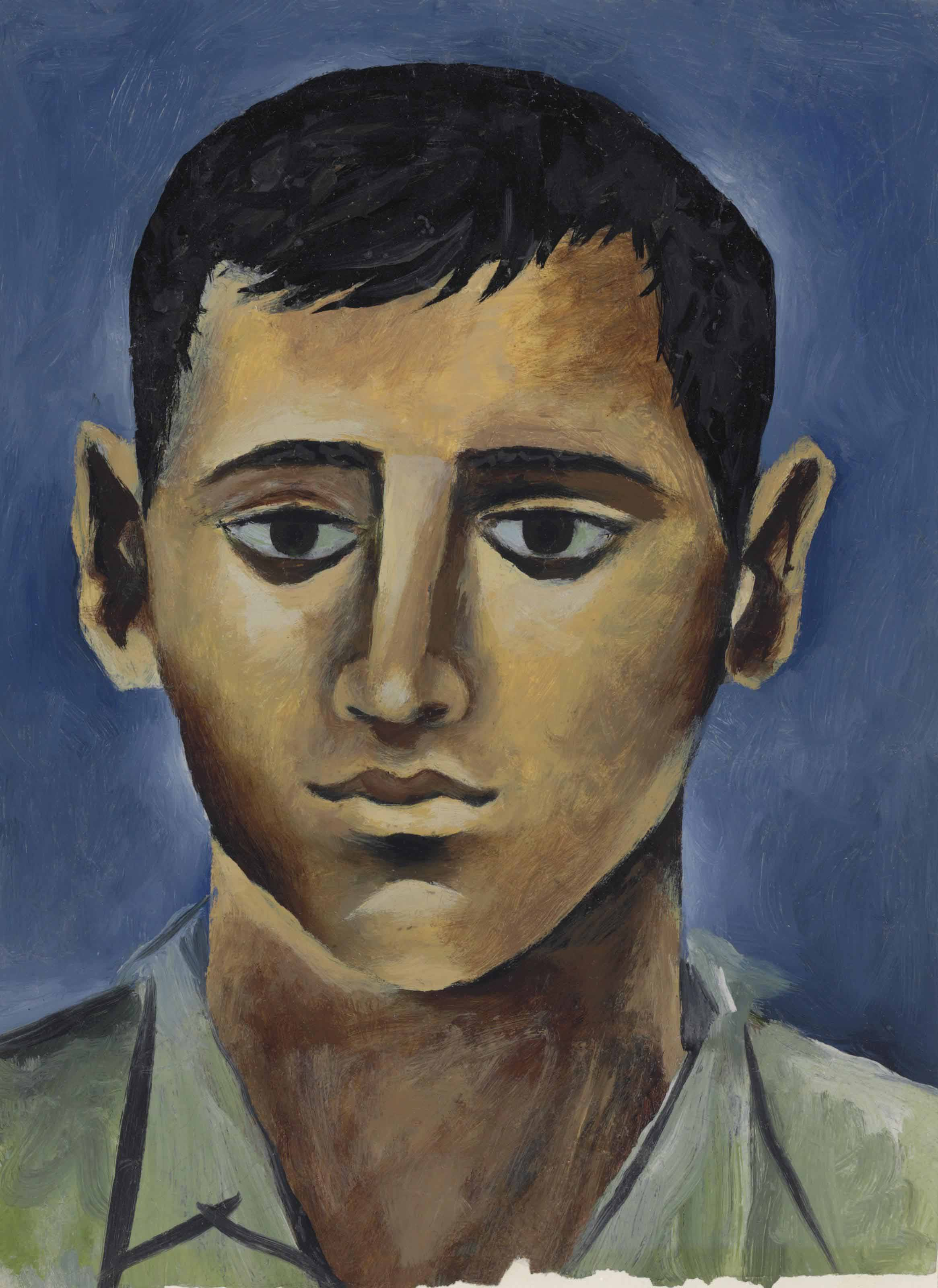 Portrait of a Greek boy, Poros