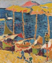 Bateaux au Port de Collioure