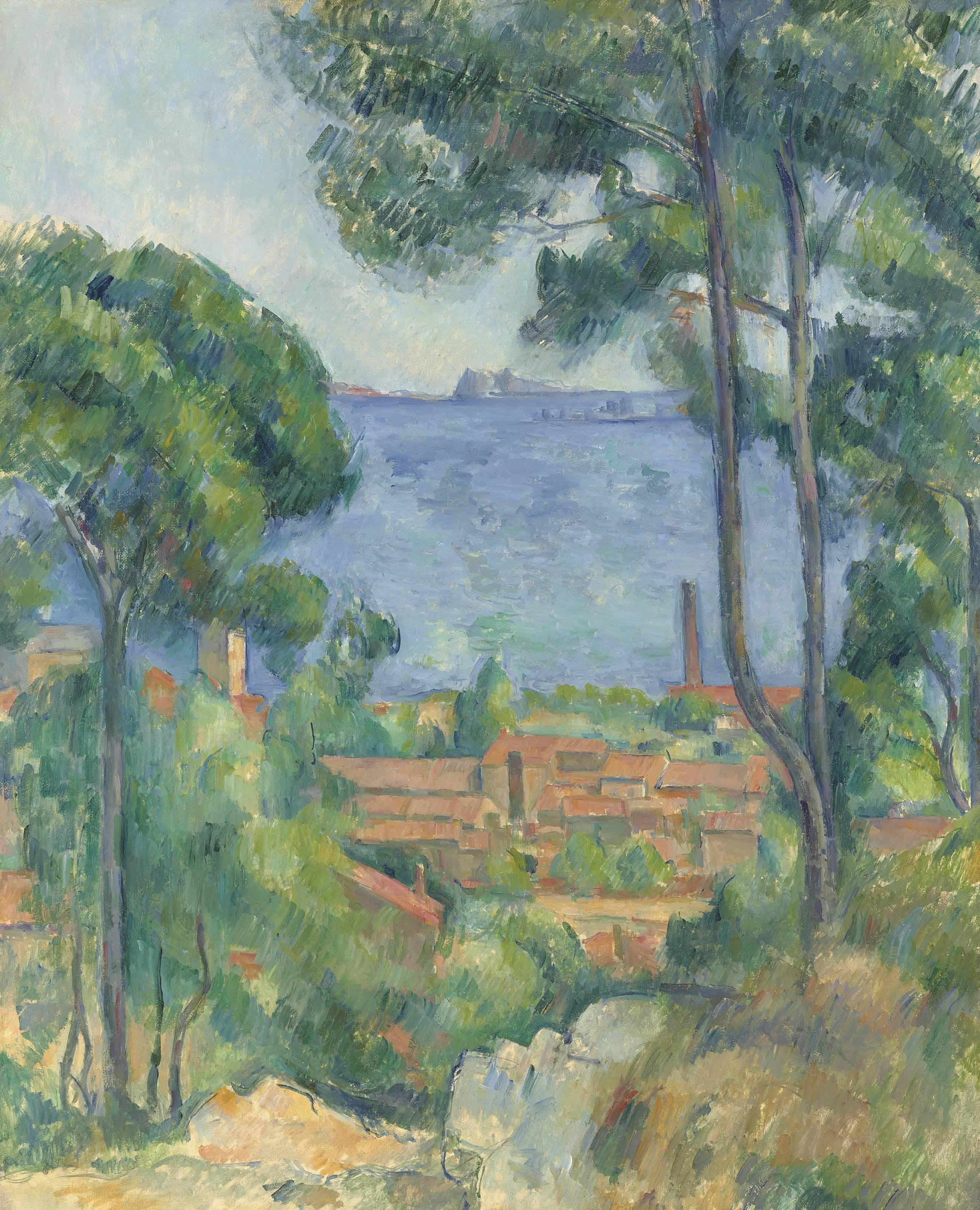 Vue sur L'Estaque et le Château d'If
