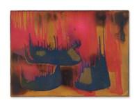 Peinture de feu couleur sans titre, (FC 27)