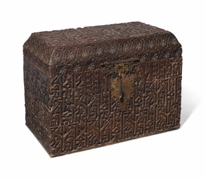 A LARGE CHEST MADE FROM MERENI