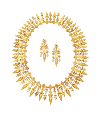 A 19TH CENTURY GOLD ARCHEOLOGI