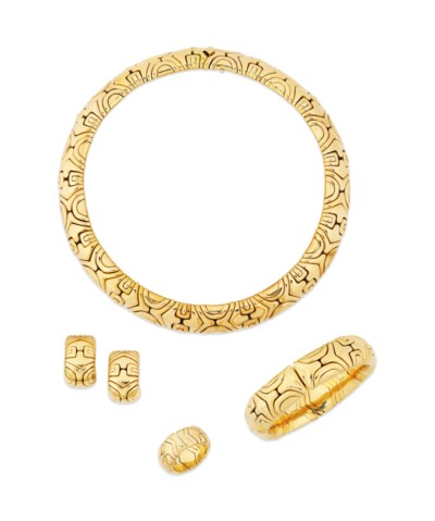 A SUITE OF JEWELLERY, BY BULGA