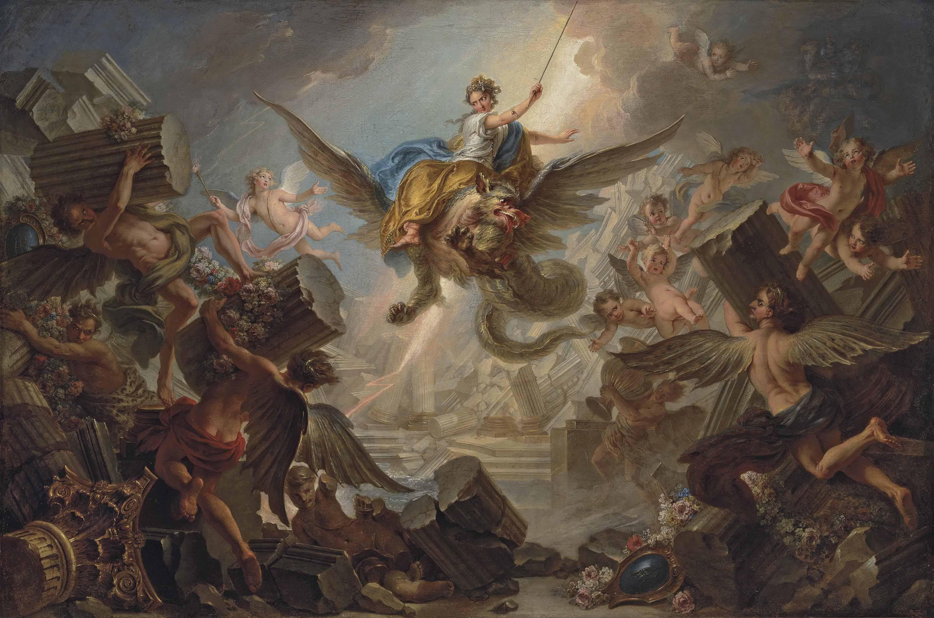 Charles-Antoine Coypel (Paris 1694-1752)
