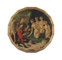 A desco da parto: Diana and Actaeon