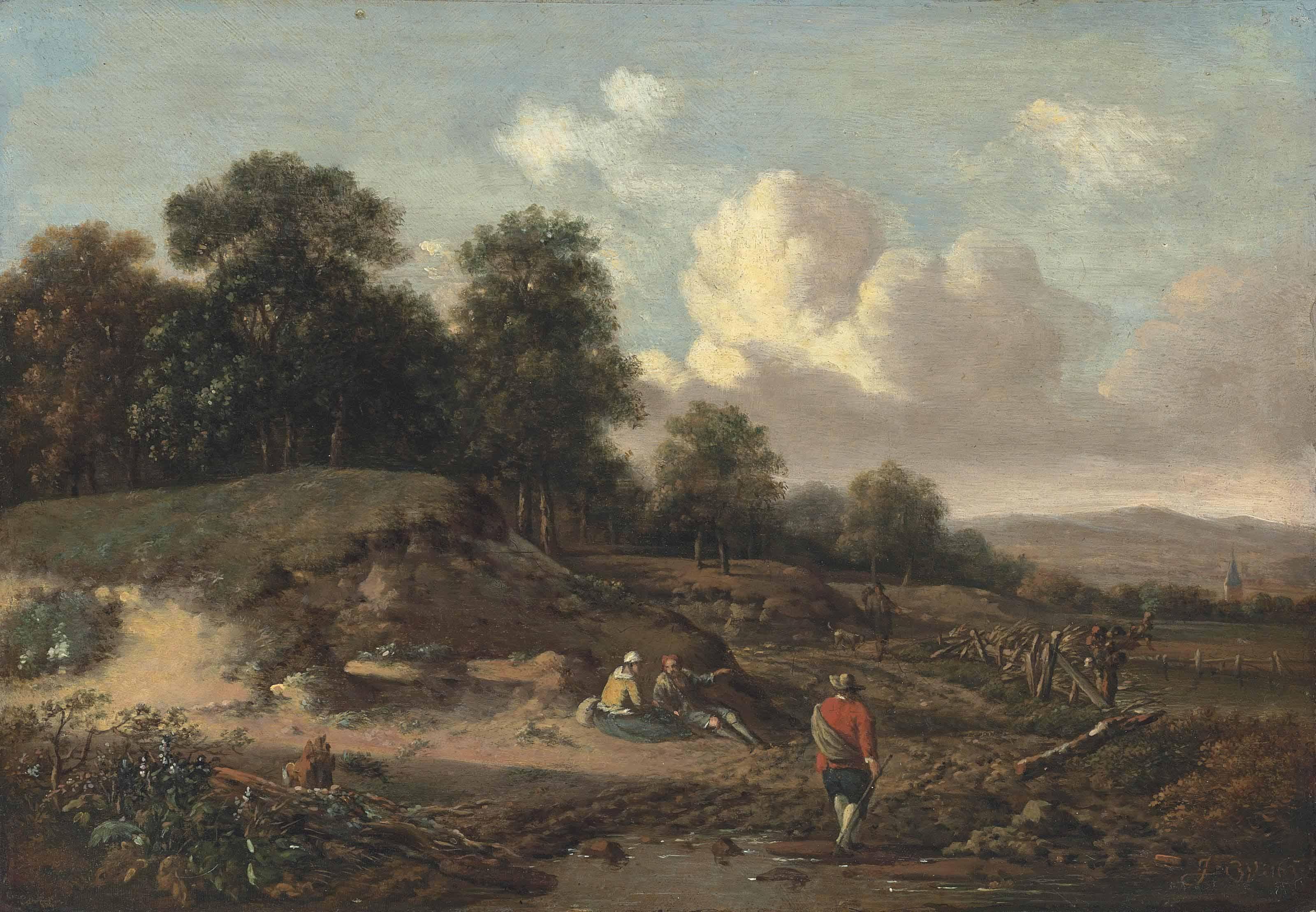 Jan Wijnants (?Haarlem c. 1635
