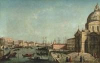 The Bacino di San Marco, Venice, with Santa Maria della Salute, the Punta della Dogana, the Ducal Palace and the Libreria